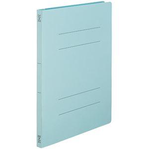 (まとめ)TANOSEEフラットファイルSE(スーパーエコノミー) A4タテ 150枚収容 背幅18mm ブルー1セット(100冊:10冊×10パック) 【×3セット】