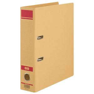 TANOSEE保存用レバー式アーチファイルN A4タテ 背幅77mm 赤 1セット(12冊)