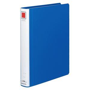 コクヨ チューブファイル(エコツインR)A4タテ 300枚収容 30mmとじ 背幅45mm 青 フ-RT630B 1セット(10冊)