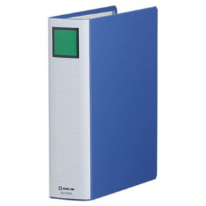 キングジムキングファイルスーパードッチ(脱・着)イージーB5タテ500枚収容50mmとじ背幅66mm青2455A1セット(10冊)