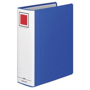 コクヨ チューブファイル(エコツインR)B5タテ 700枚収容 70mmとじ 背幅85mm 青 フ-RT671B 1セット(10冊)