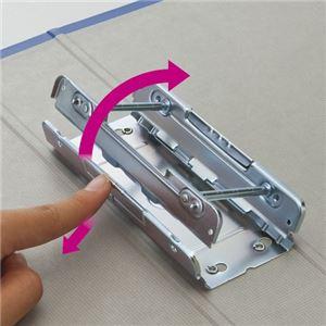 TANOSEE 両開きパイプ式ファイルA3ヨコ 600枚収容 60mmとじ 背幅76mm 青 1セット(30冊)