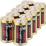 (まとめ)メモレックス・テレックス アルカリ乾電池単1形 LR20/1.5V/10S 1パック(10本)【×3セット】