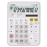 (まとめ)カシオ 計算チェック機能付き電卓 12桁DJ-120W-N 1台【×2セット】
