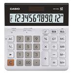 (まとめ)カシオ 横型電卓 12桁DW-120L-N 1台【×3セット】