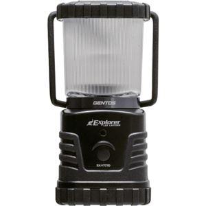 ジェントス LEDランタンExplorer 360Lm 防滴仕様 EX-V777D 1個
