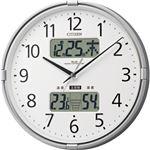 シチズン 環境目安表示付電波掛時計4FY618-019 1台