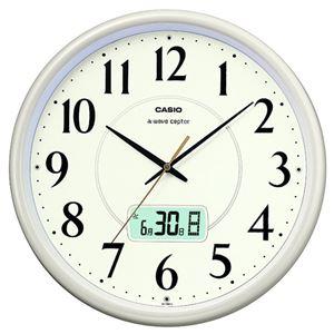 カシオ電波時計ライトシャンパンゴールドIC-1001J-9JF1台