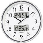 リズム時計 電波掛時計フィットウェーブリブ 4FYA07SR03 1台