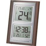 アデッソ デジタル日めくり電波時計NA-101 1個