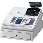 東芝テック 電子レジスターShallotII MA-550シリーズ MA-550-10-R 10部門タイプ 白 22103809 1台