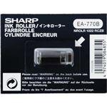 (まとめ)シャープ 電子レジスタ用インキローラ 黒TY0222B 1個【×10セット】