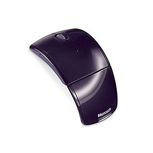 マイクロソフトアークマウス2.4GHzワイヤレスパープルZJA-000511個
