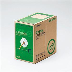 エレコムEURoHS指令準拠LANケーブル(Cat5e単線)オレンジ100mLD-CT2/DR100/RS1本