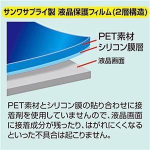 (まとめ)サンワサプライ 液晶保護光沢フィルム3.0型 DG-LCK30 1枚【×10セット】