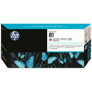 HP HP81プリントヘッド/クリーナー ライトマゼンタ C4955A 1個