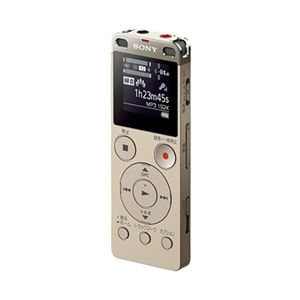 ソニーステレオICレコーダーFMチューナー付4GBゴールドICD-UX560F/N1台