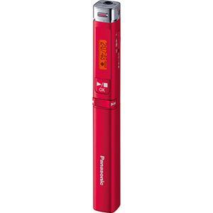 パナソニック ICレコーダー 8GBレッド RR-XP009-R 1台