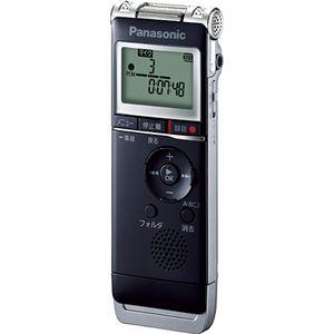パナソニック ICレコーダー 8GBブラック RR-XS370-K 1台
