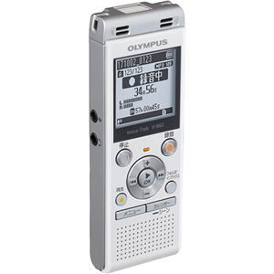 オリンパス ICレコーダー VoiceTrek 4GB ホワイト V-862 WHT 1台