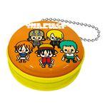 【ワンピース×パンソンワークス】ジッパー缶 vol.2(麦わらの海賊A オレンジ)