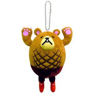 ご当地キャラクター 音がピッピと鳴るよマスコット(ハンバーグマのグーグー) 静岡県