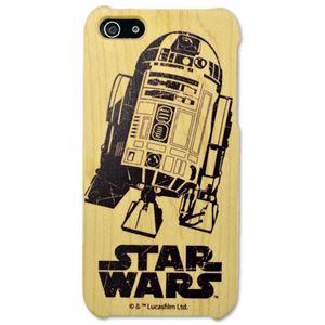 Woodケース iPhone 5s/5 スターウォーズ(R2-D2) - 拡大画像