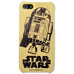 Woodケース iPhone 5s/5 スターウォーズ(R2-D2)