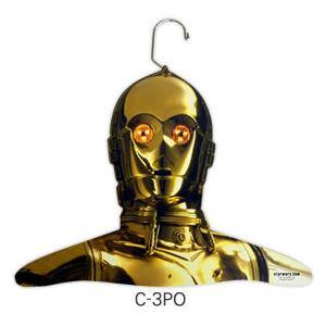 スター・ウォーズ 木製ハンガー Cos-Me(コスミー)(C-3PO)