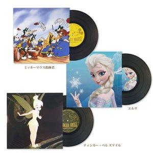 おしゃれな部屋作りに アロマレコード LP ディズニー(ティンカー・ベル スマイル)