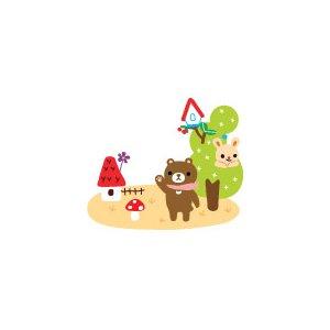 JETOY【ジェトイ】クリアパスポートケース/アニマル