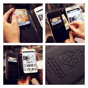 MrH(ミスターエイチ)スマホウォレットケース/メチルローズ(ゴールド) iphone6 plus ※チェーン付属なし