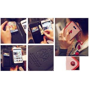 MrH(ミスターエイチ)スマホウォレットケース/レッドライディングフードByiphone6plus