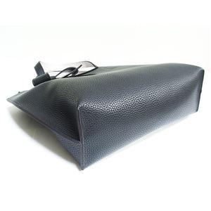 柔らか素材のリボンチャーム2Wayバッグ/ブラック
