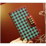 MrH(ミスターエイチ)スマホケース/アロンギングフォーカントリーギンガムBy iphone5/5S