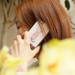 MrH(ミスターエイチ)スマホフリップケース/キティラビットByiphone5/5S