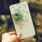 MrH(ミスターエイチ)スマホケース/花の香りByiphone6plus