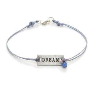 Dogeared(ドギャード)プレートブレス(m-DREAM-it.blue quartz)