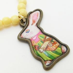 開運チャームが いっぱいの風水ブレス/ウサギ