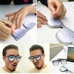 ユニークな付箋が登場!眼鏡ふせん