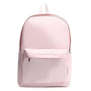 全6色♪安さが自慢の前ポケット付軽量ラウンドリュック/さくらピンク h01