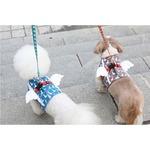 Its Dog(イッツドッグ) マイエンジェルベストハーネス・スイミングダック/ブルー【XL】