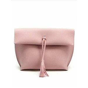 フェミニンカラー♪どんなスタイルにも上品にマッチする優秀ショルダーバッグ/ピンク