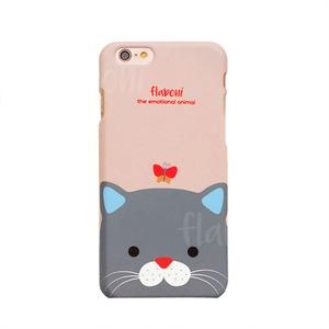 MrH(ミスターエイチ)スマホスキニーケース/エモーショナルアニマル・キャット By iphone6s