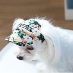Its Dog(イッツドッグ) ゴーゴーキャップ/ブラックフラワー【M】