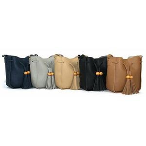 韓国で人気デザイン♪大人可愛いワンショルダーバッグ/ブラック
