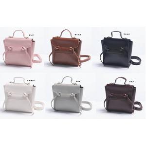 2Way変わったデザインの上品なミニハンドバッグ/ピンク