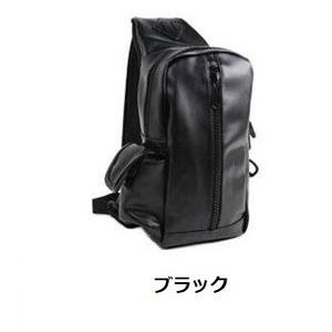 人気のため新カラー追加!登山も普段使いにも。シンプルボディバッグ/ブラック h01