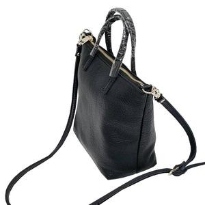 くったり柔らかい♪上質素材のファスナー付2Wayトートバッグ/グレイ f04