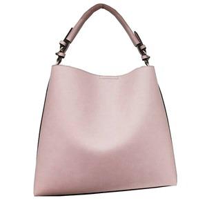 全10色♪長めのワンハンドルタイプの2wayトートバッグ/ピンク h01